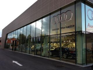 Entretien de la surface de vente Audi Odicée à Marseille