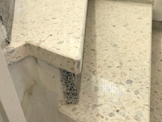 Rénovation escaliers en granito