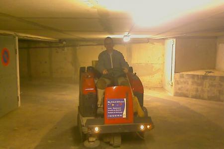 Nettoyage enlèvement encombrant industriel de parking