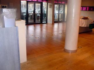 rénovation des parquets vitrification Le Radisson