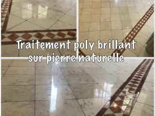 Polybrillant sur Pierre Naturelle - La Seyne sur mer C. Darmanin