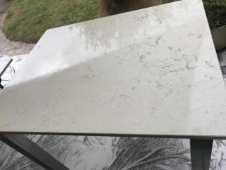 Rénovation Table en Marbre -St Tropez