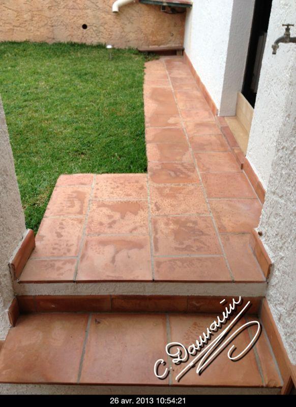 Traitement des terrasses extérieures en terre cuite dans le Var ...