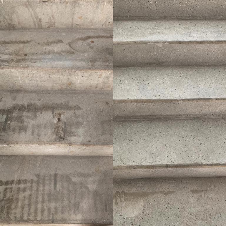 Rénovation de sols et escaliers en béton - ponçage de sols en béton traitement - C. Darmanin 83