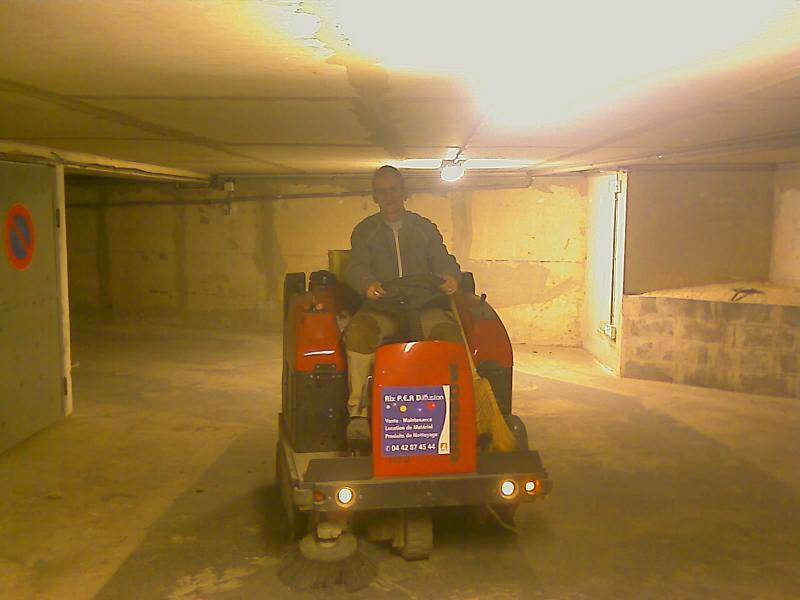 C. Darmanin nettoyage des sous sols parkings et garages - Var - Seyne-sur-Mer (83)